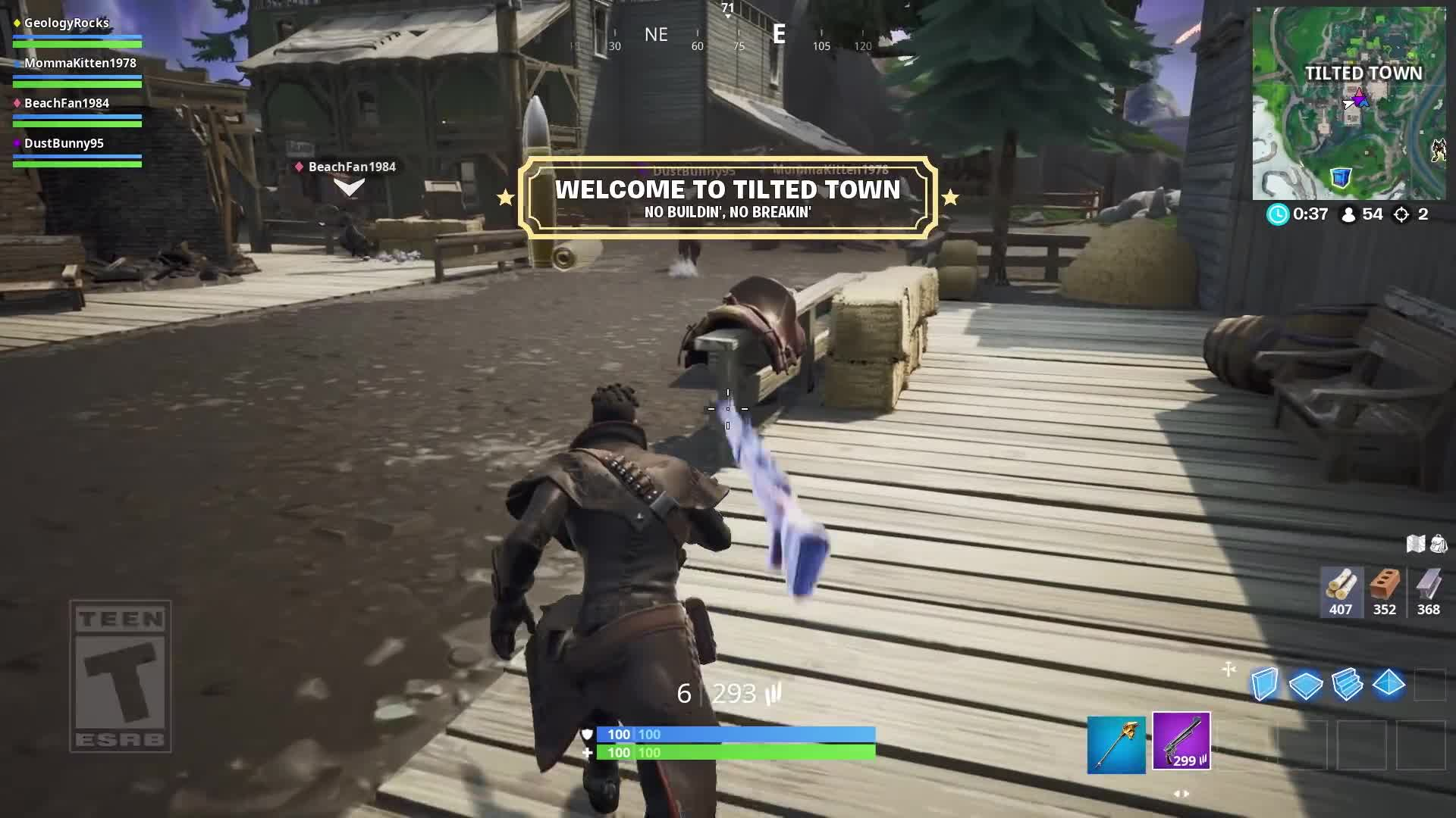 Fortnite - Rift Zone - Tilted Town [HD] screen capture