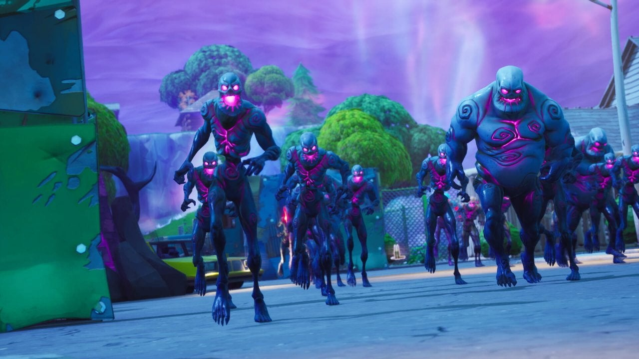 Fortnite zombies