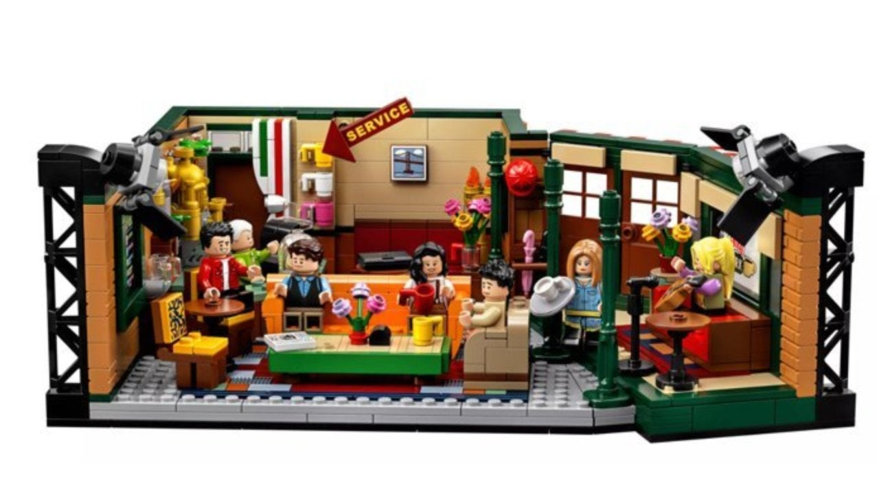 LEGO Ideas Friends Central Perk Set Now Available on Amazon