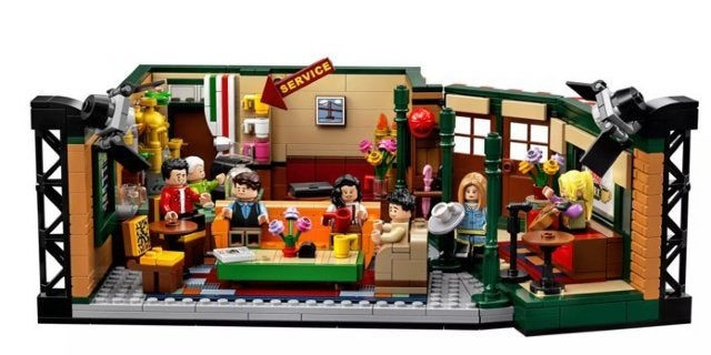 Last Call for the LEGO Ideas Friends Central Perk Set