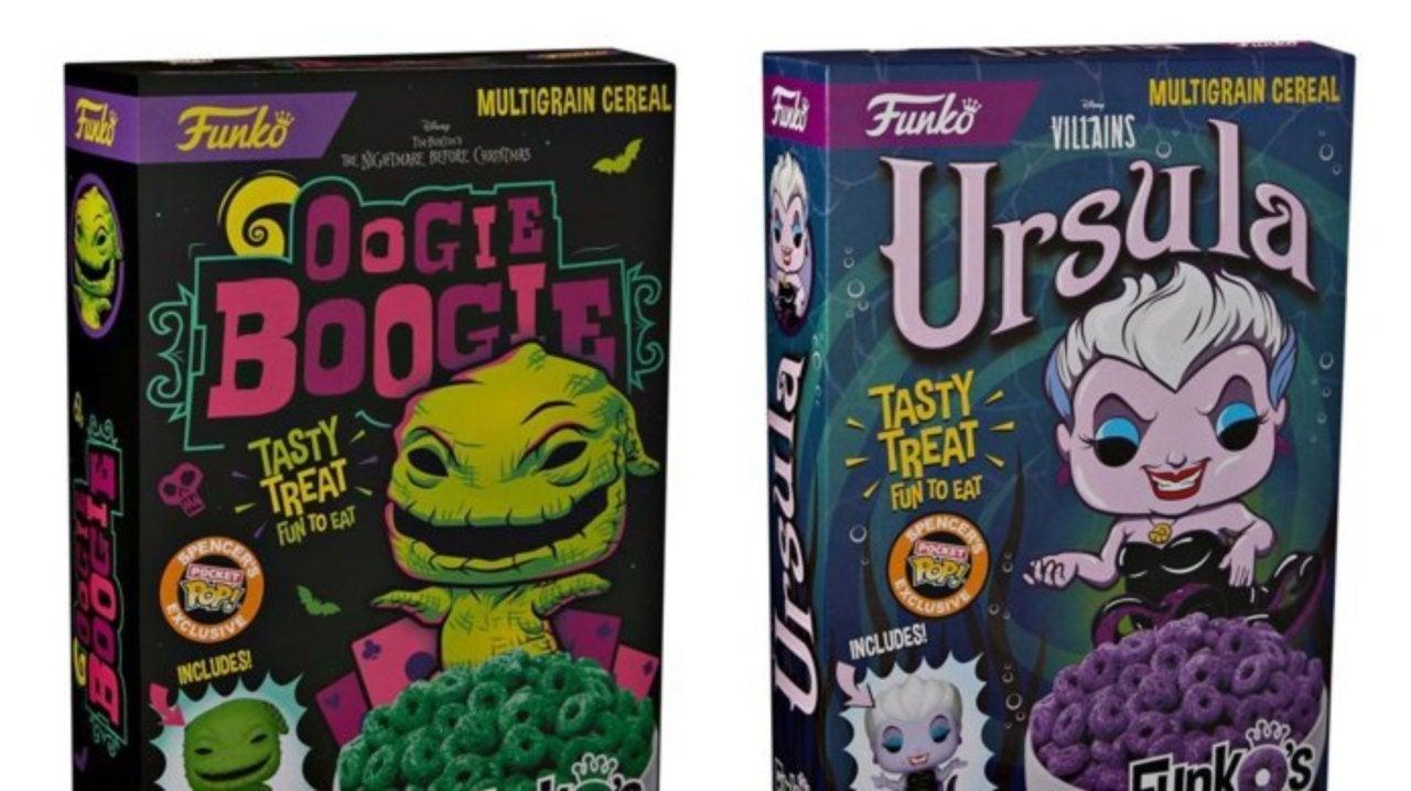 Funko Disney Villains Ursula FunkO/'s Cereal with Pocket Pop