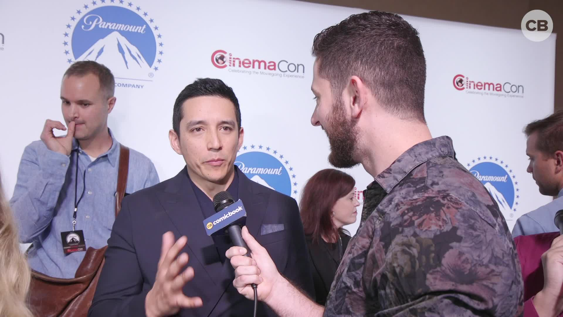 Gabriel Luna Talks 'Terminator: Dark Fate' - CinemaCon Interview screen capture