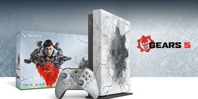 Gears 5 Is Getting a Limited-Edition Xbox One X Bundle