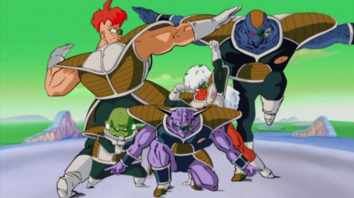 Ginyu Force Dragon Ball