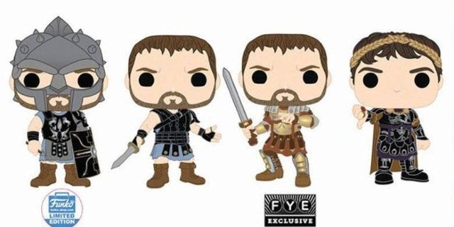 Gladiator Funko Pops Get a Thumbs Up