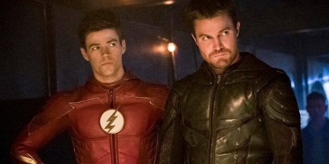Grant Gustin Says Arrowvere Won't Be Flashverse after Arrow Ends