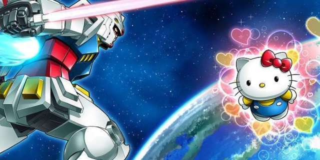 First Gundam vs Hello Kitty Merchandise Revealed