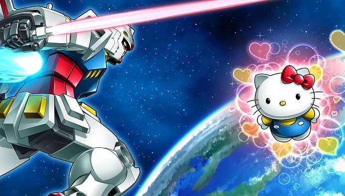 Gundam Hello Kitty 1