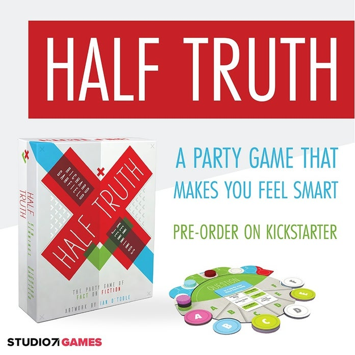 Richard Garfield And Ken Jennings' New Game Half Truth