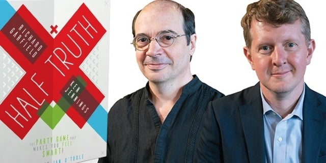 Richard Garfield and Ken Jennings Give Us the Lowdown on New Game Half Truth