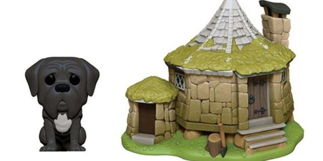 Funko Harry Potter Hagrid's Hut With Fang Pop Town Figure is Live