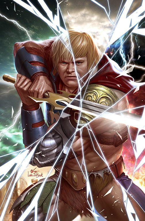 he-man masters of the multiverse dc comics inhyuk lee