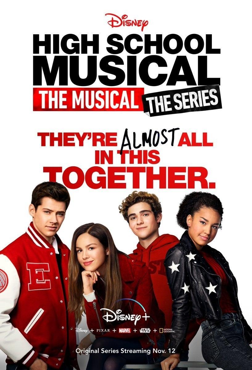 high school musical series poster disney plus