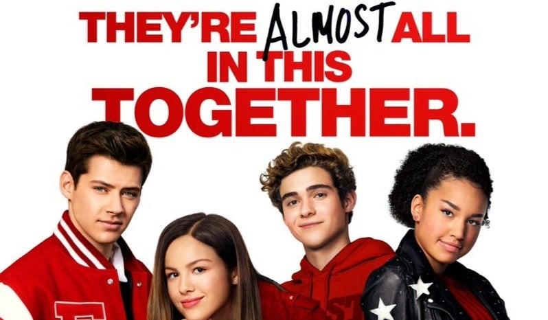 high school musical series poster header