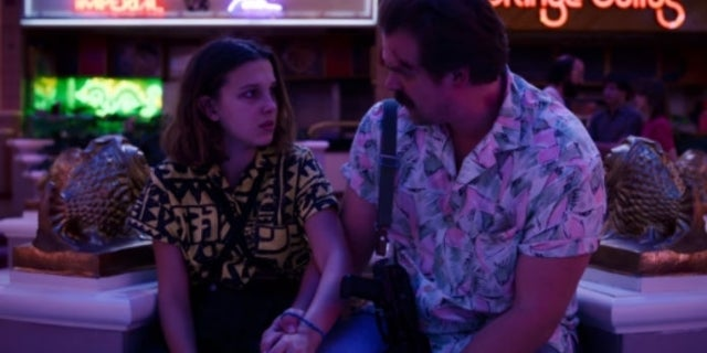"""Stranger Things Stars David Harbour and Millie Bobby Brown Have """"Daddy Daughter Date"""""""