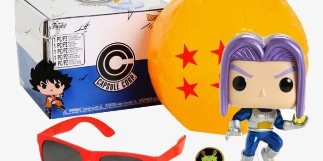 The Dragon Ball Z Exclusive Future Trunks Funko Pop Box is Available Now
