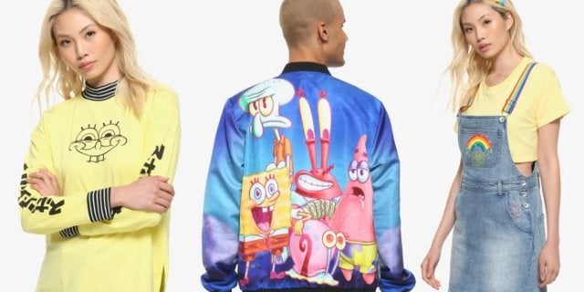 Hot Topic Launches a SpongeBob SquarePants Streetwear Collection
