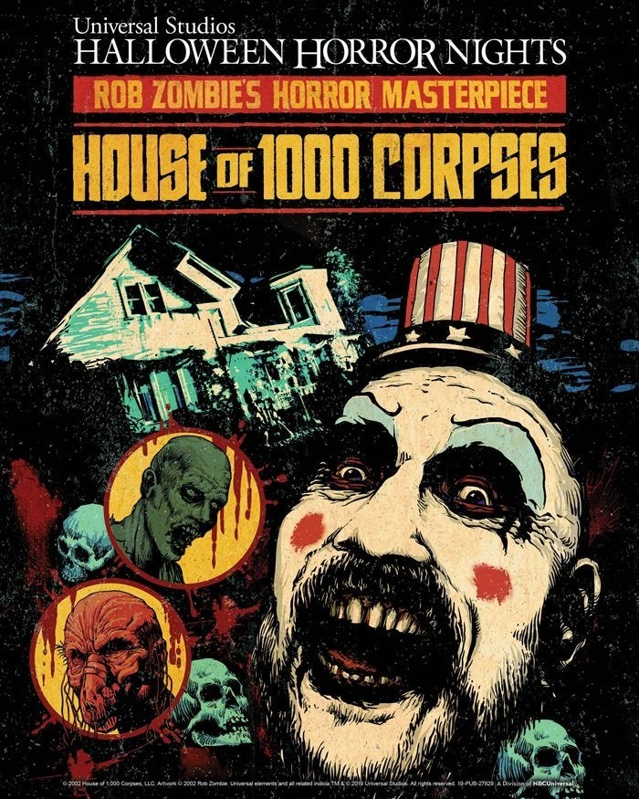 house of 1000 corpses halloween horror nights rob zombie