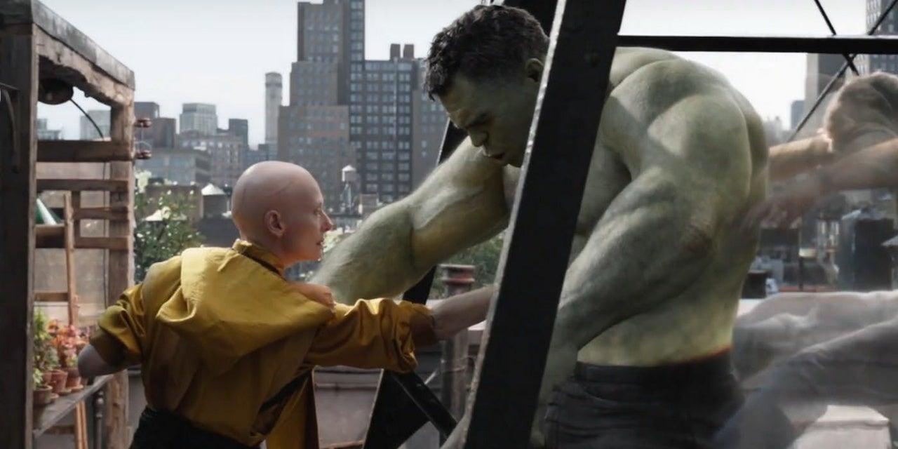 hulk ancient one avengers endgame