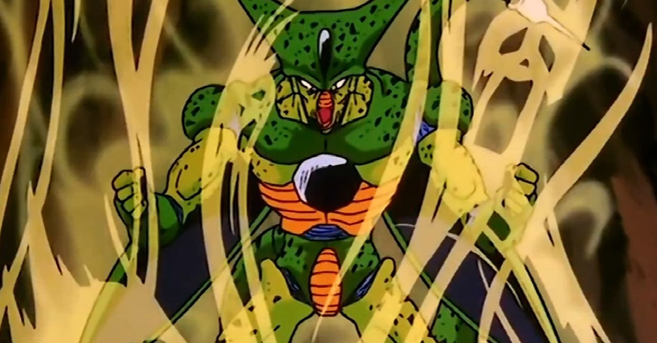 imperfect cell dragon ball