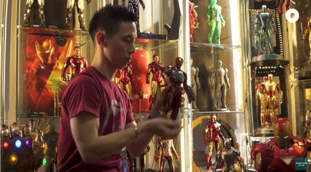 This Man Has a Room Dedicated to Iron Man Figures
