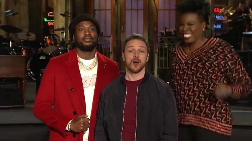 James McAvoy Shows Off His Accents - SNL screen capture