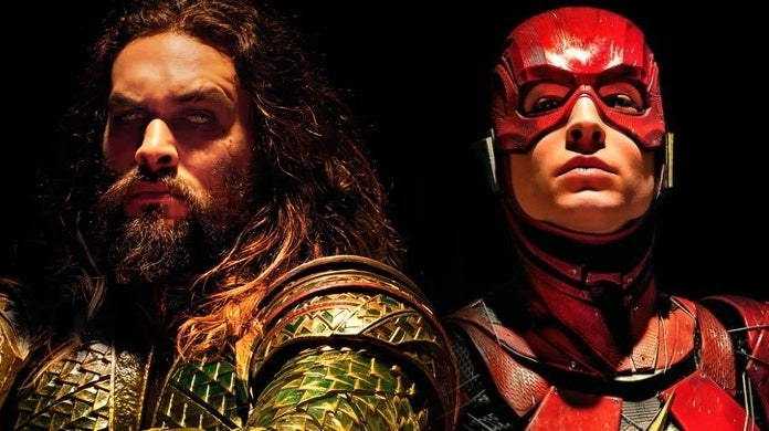 jason momoa ezra miller aquaman flash justice league