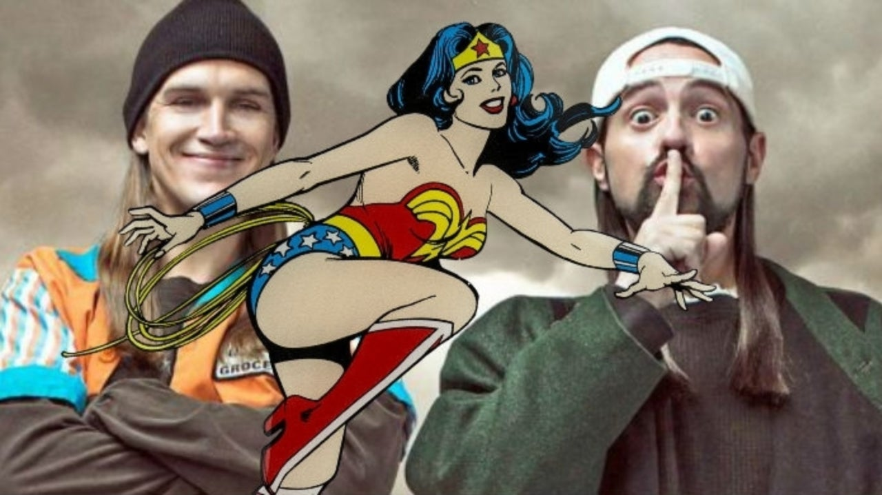 Kevin Smith Scores Wonder Woman Book and Record Set in Jay and Silent Bob Reboot Ticket Trade