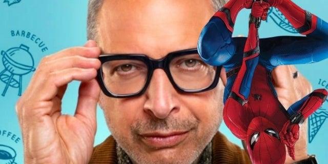 Watch Jeff Goldblum Find Out About the Broken Spider-Man Deal