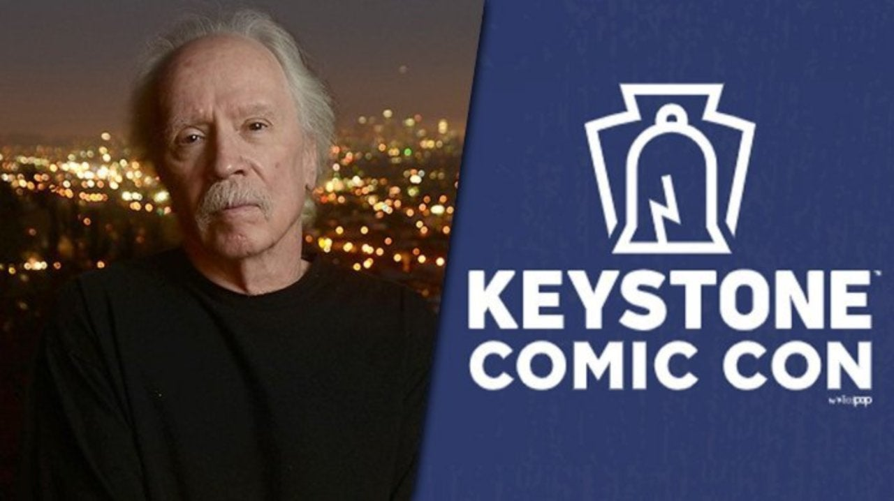 John Carpenter Shares His Excitement About His Keystone Comic Con Appearance