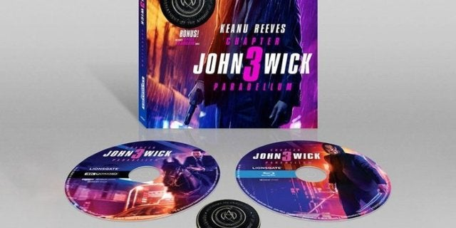 John Wick: Chapter 3 Exclusive 4K Blu-ray Now Comes With Free Adjudicator Coin