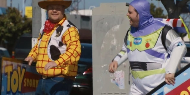 James Corden & Josh Gad Get Fired From Hobbs & Shaw but Land Toy Story 4 Job in Viral Video