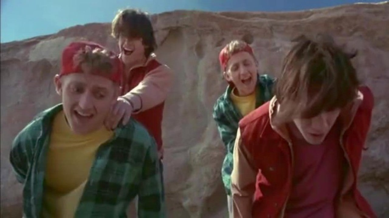 Keanu Reeves Social Media Accounts Are Fake According to Bill & Ted 3 Co-Star Alex Winter