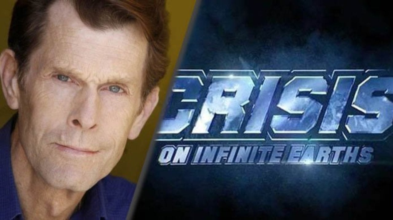 Batman Actor Kevin Conroy Shares Photo FromCrisis on Infinite Earths Location