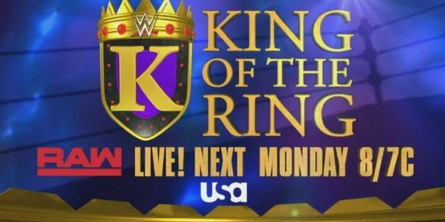 WWE Announces Return of the King of the Ring Tournament