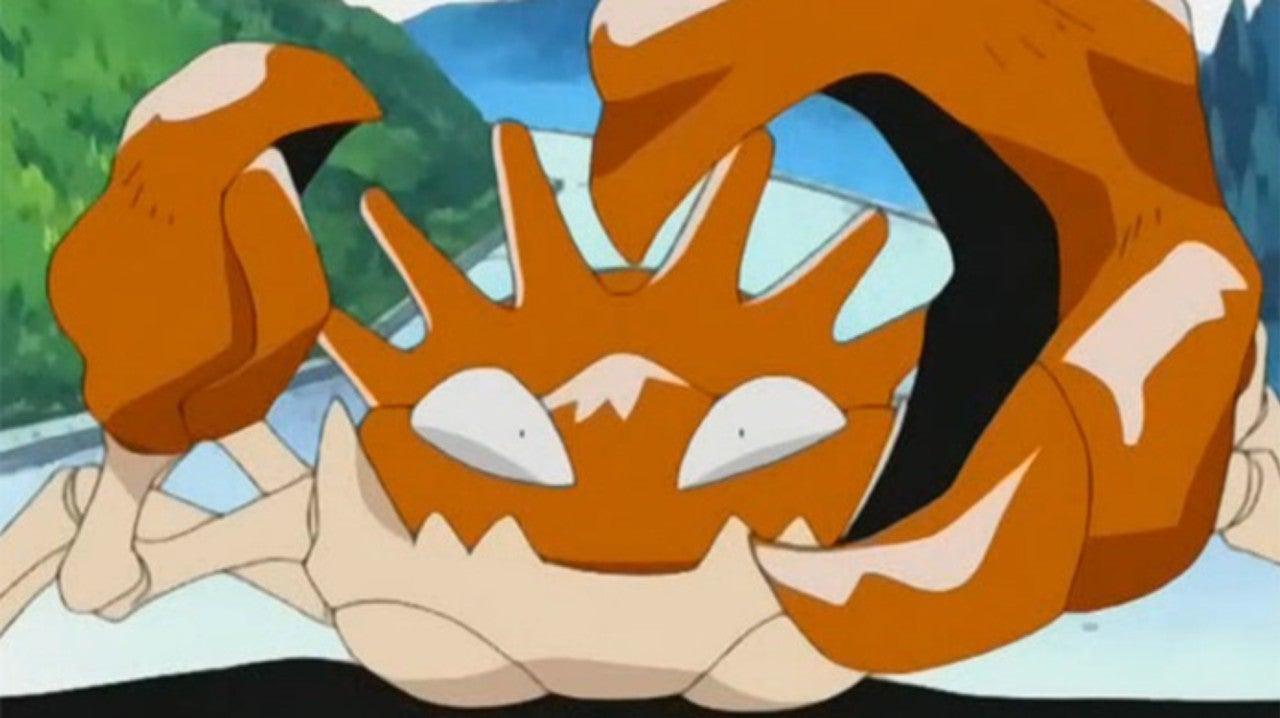 Kingler is Now a Powerhouse in Pokemon Go