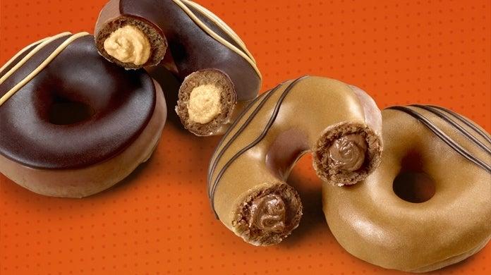 krispy-kreme-reeses-doughnuts