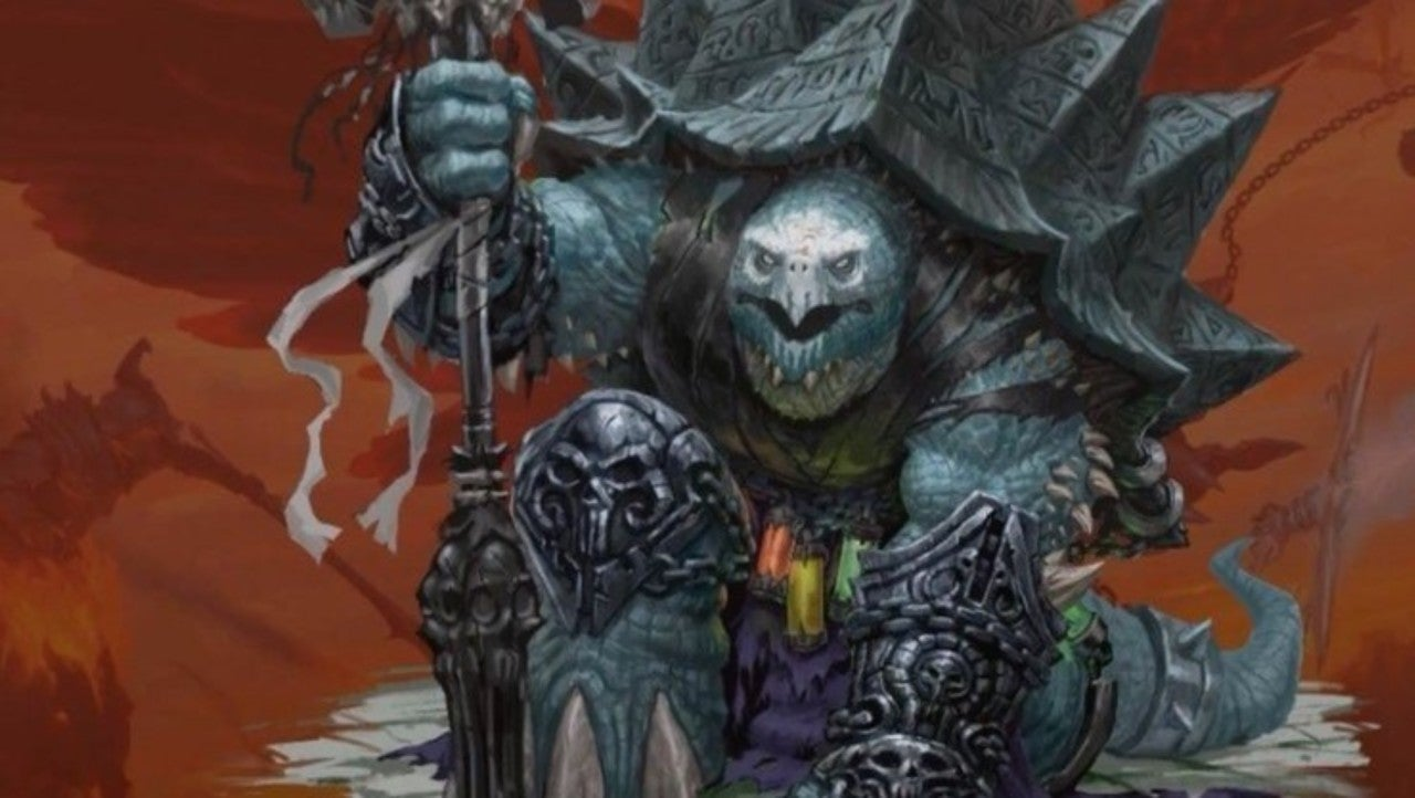 Dungeons & Dragons Shows Off Badass Tortle Designed by Joe