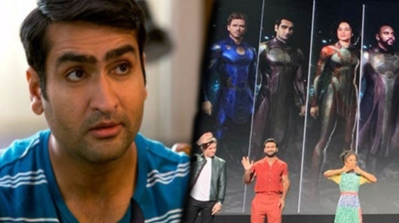 Eternals Star Kumail Nanjiani Teases New Details of the Mysterious Marvel Movie