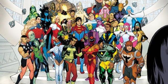 Brian Bendis Reveals Legion of Super-Heroes Lineup on Late Night With Seth Meyers