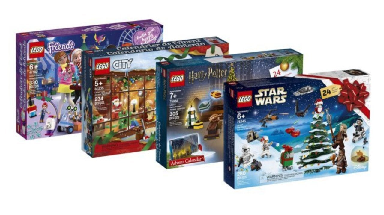 Calendrier Avent Lego Star Wars 2019.Lego Star Wars Harry Potter And City 2019 Advent Calendars