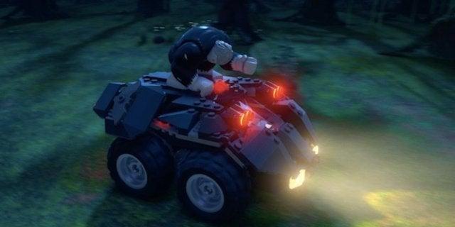 Exclusive Clip: Solomon Grundy Spooks LEGO DC: Batman - Family Matters