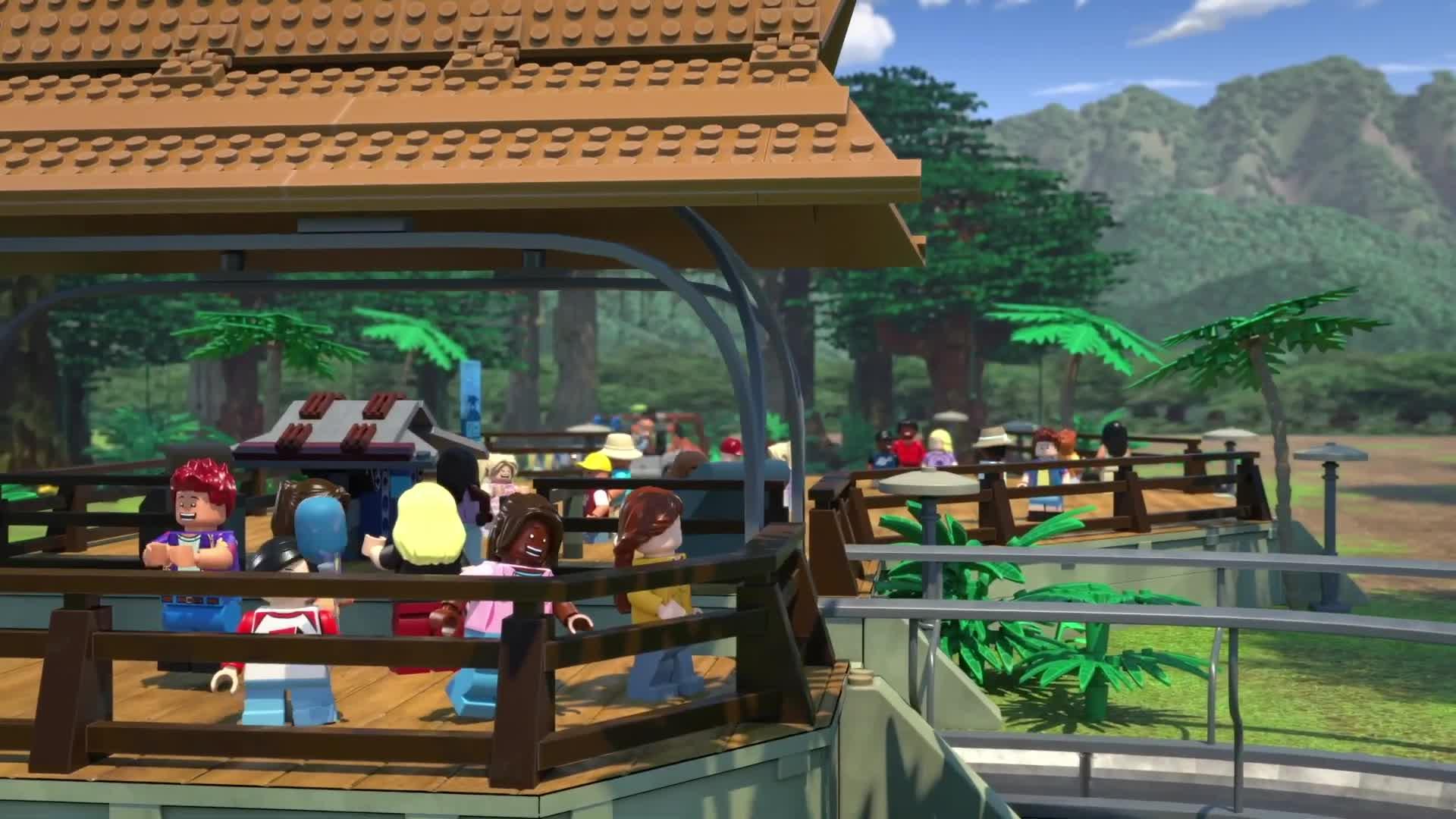 LEGO Jurassic World - First Look [HD] screen capture