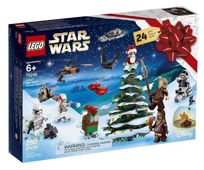 Harry Potter Advent Calendar.Lego S Star Wars And Harry Potter 2019 Advent Calendars Are Live