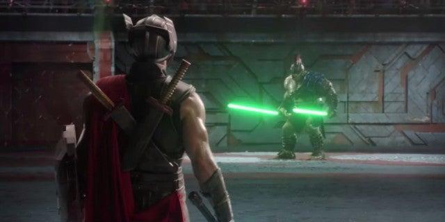 Hulk Vs Thor Fight Scene From Ragnarok Is Even Better With Lightsabers