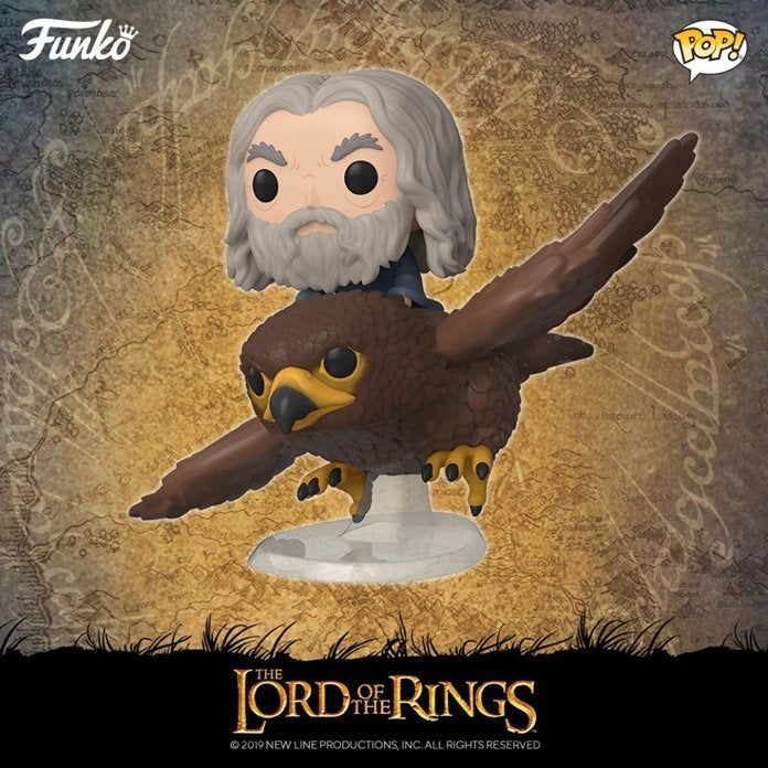Gwaihir w// Gandalf New Toy Vin FUNKO POP RIDES: Lord of the Rings