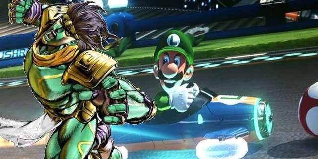 JoJo's Bizarre Adventure Fan-Art Perfectly Combines Jotaro with Luigi