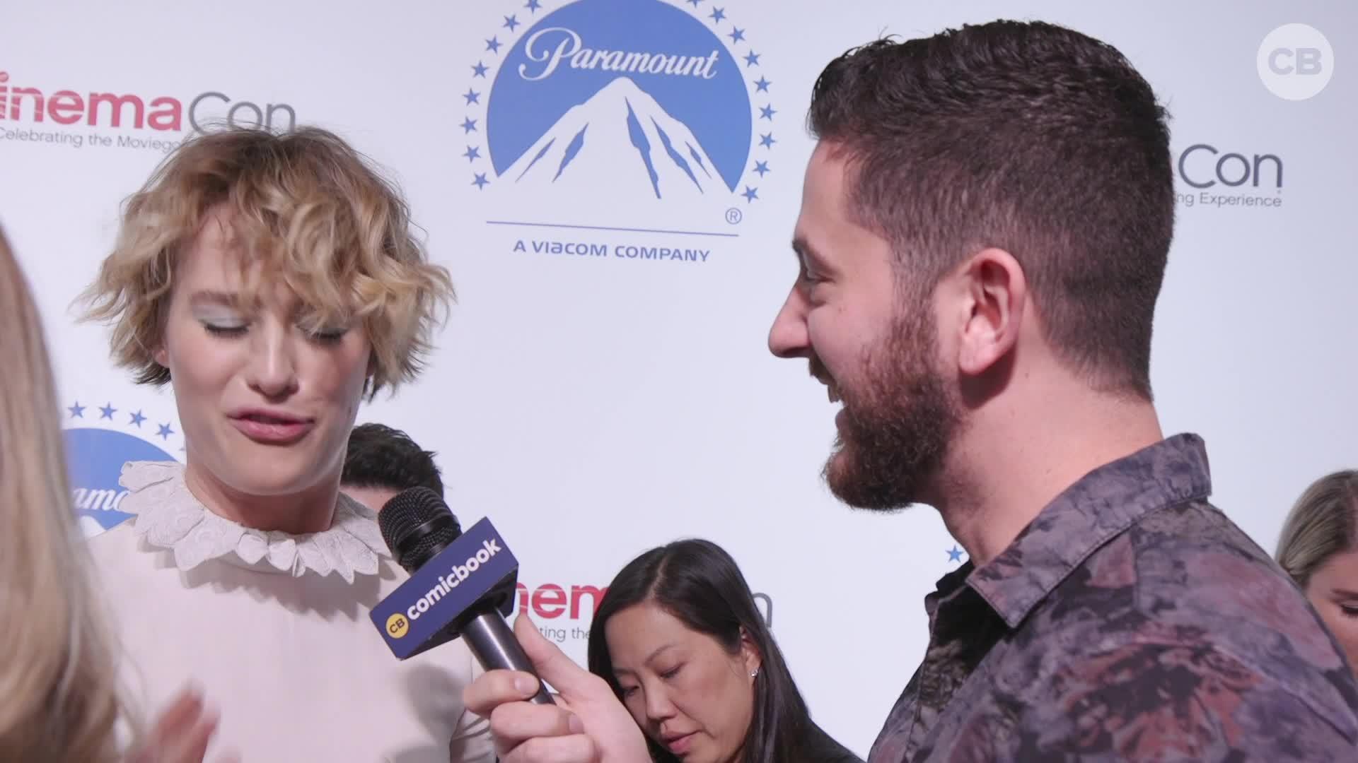 Mackenzie Davis Talks 'Terminator: Dark Fate' - CinemaCon Interview screen capture