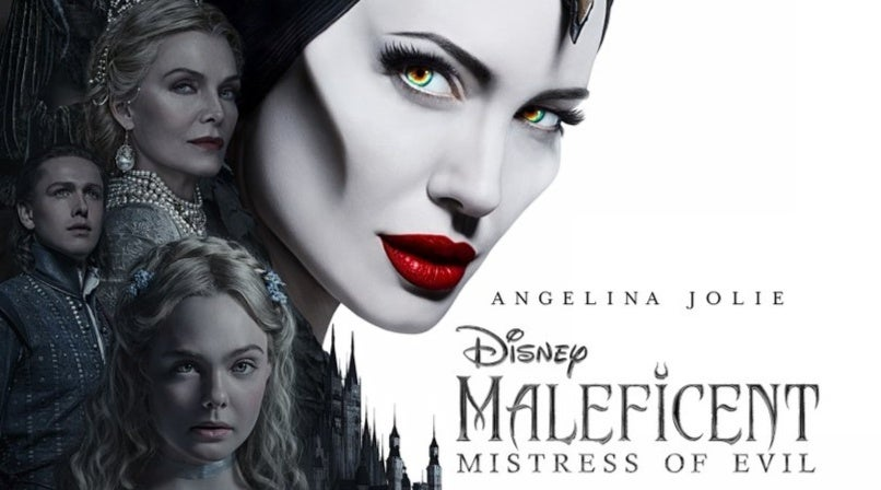 maleficent 2 poster angelina jolie