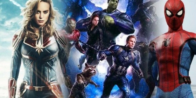 Marvel Cinematic Universe Movies 2019 5 Billion Box Office
